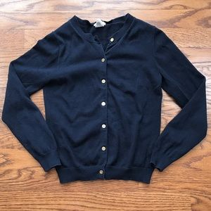 Crewcuts Girls Cute Navy Cardigan